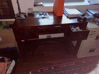 Vintage Chinese study table