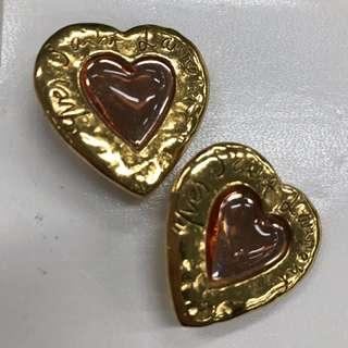 Authentic YSL clip on earrings