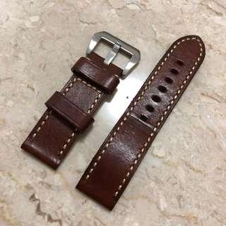 24mm Leather Strap (preowned)