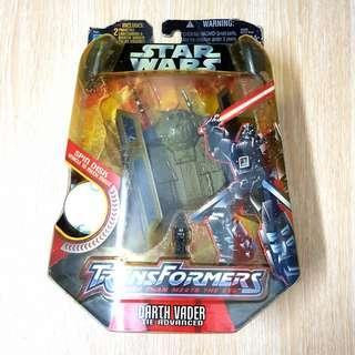 Transformers Star Wars Darth Vader Tie Advanced 2005