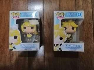 Vocaloid Kagamine Twins Figurines
