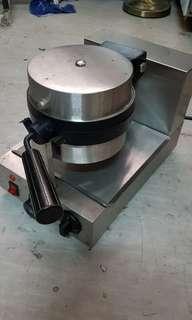 Waffle machine flip type belgium