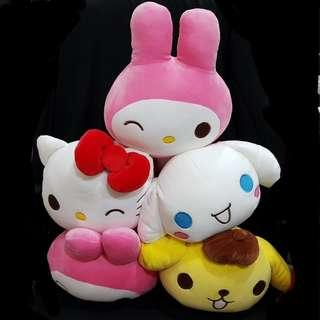 Sanrio Characters Marshmallow Squishy UFO Catcher Prize from Japan
