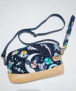 Jujube Tokidoki Space Place Custom Wristlet Crossbody convertible