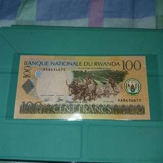 2003 盧旺達 100法郎