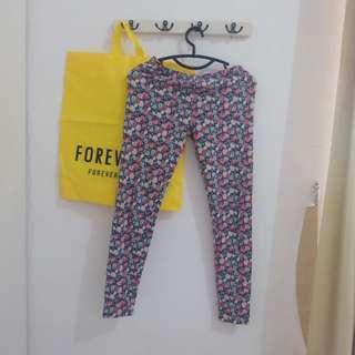 Floral Legging Forever 21