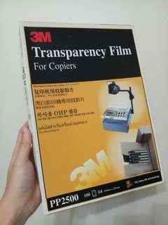 3M Transparency Film For Copiers