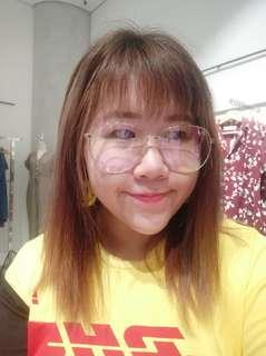 korean ulzzang big frame specs