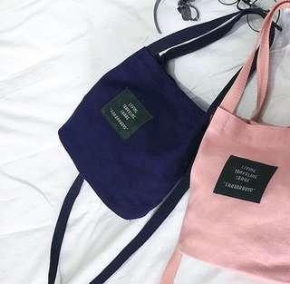 Living traveling share slingbag