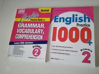 Primary 2 English Assessment Books