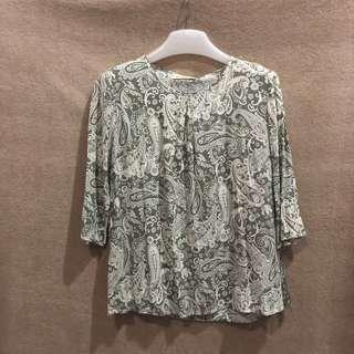 FOS Printed Blouse