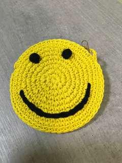 Smile smileys coin bag