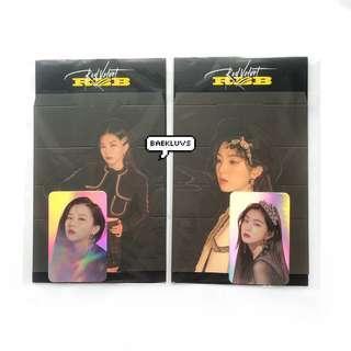 [INSTOCKS] Red Velvet RBB Official Standee + Hologram Photocard