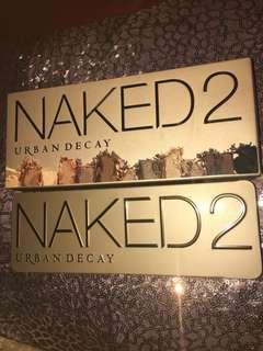 Naked 2 urban decay eyeshadow pallette