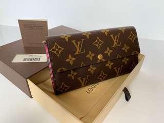 Authentic Louis Vuitton Limited Edition Leopard Print Long Wallet