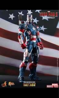 Hot toy iron patriot diecast