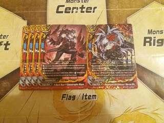 Buddyfight S-BT03 Dragonblood Sect Cards