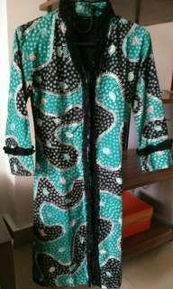 Batik hijau elegant