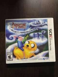 3DS GAMES ADVENTURE TIME
