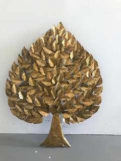 Golden Tree Art Deco