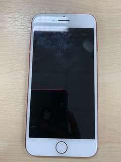 Red iPhone 7 128 gb