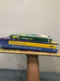 SPM Biologi References Book