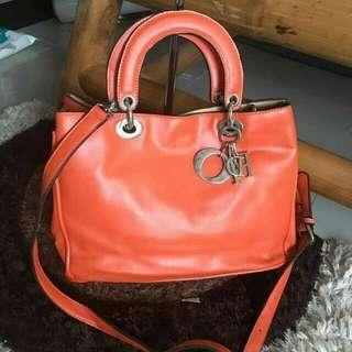 Dior 2 way bag