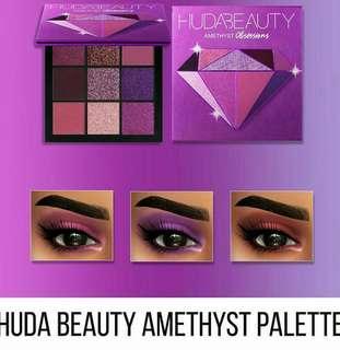 🚚 Huda Beauty Amethyst Obsession & Ruby obsession Eyeshadow pallete