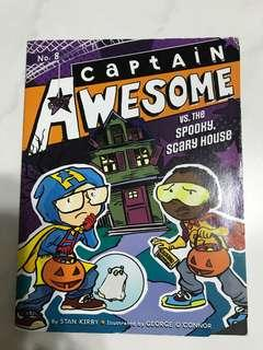 Captain Awesome vs the spooky scary house