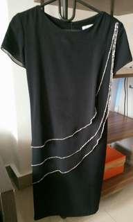 Dress black elegant