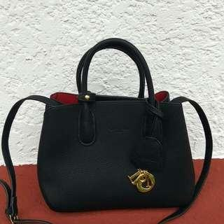 Dior leather 2 way