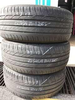 225/45/19 bridgestone used tyre 50