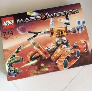 【絶版 | 全新】LEGO Mars Mission (#7697)
