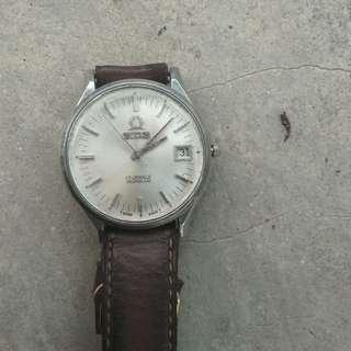 Jam tangan Titus 21 jewels incabloc manual winding