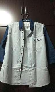 natural project button up