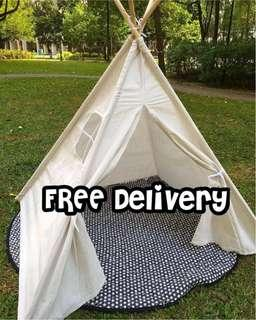 🚚 NEW Play Tent Teepee Canvas