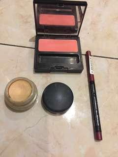 Eyeshadow primer mac blush on makeover lip liner wet & wild