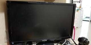 """Philips 24"""" 244E monitor HDMI VGA"""