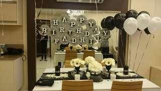 Surprise birthday celebration