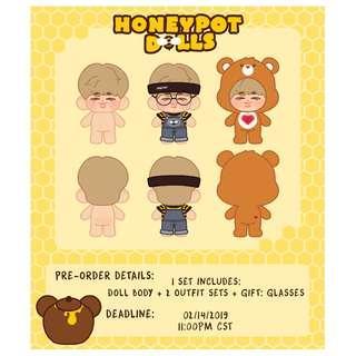 [SG GO] BTS RM Honeypot Joonie Doll by honeypotdolls