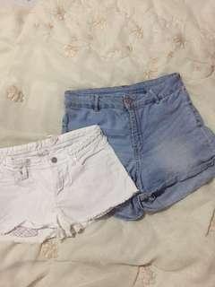 H&M shorts bundle