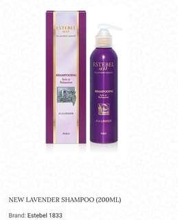 Estebel New Lavender Hair Shampoo (200ML)