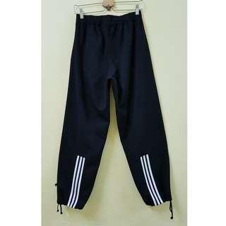 Adidas Black 3-Stripes Long Pants, M. (Original)
