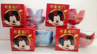 KitKat with Limited Edition Disney Ceramic Bowls Set (Ready-stock!)