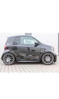 Smart Fortwo 453 CS Racing sport spring kit 避震單簧