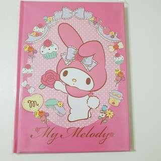 My Melody Sanrio Notebook Hard Cover