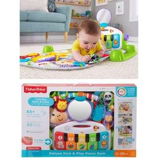 Ready Stock! Brand New Fisher Price Deluxe Kick n play Piano Gym *USA Imported* (Best Baby Boy/Girl Shower Full-moon Newborn Gift Set)