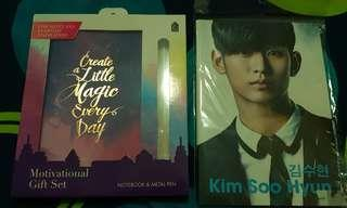 #blessing Notebooks Motivational and Kim Soo Hyun