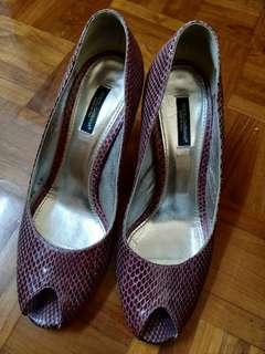 D & G high heels
