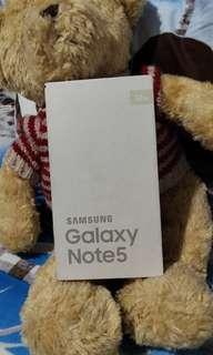 Kotak handphone samsung galaxy note 5 #bersihbersih